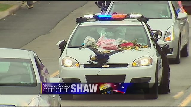 BRIAN SHAW: Officer Shaw laid to rest with law enforcement
