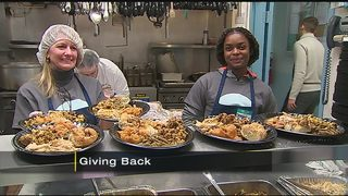 100+ volunteers pack, serve meals at Light of Life Rescue Mission