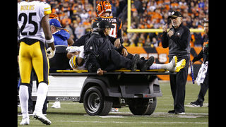 RYAN SHAZIER: Steelers' Shazier undergoes spinal