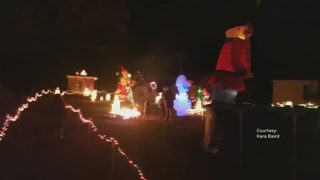 Indiana County teen creates elaborate Christmas display by himself