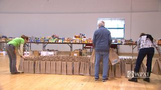 RAW VIDEO: Meals on Wheels makes Blizzard Bags