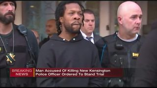 Suspect in shooting death of New Kensington police officer heading to trial