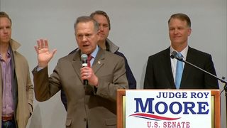 RAW VIDEO: Roy Moore refuses to concede