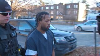 RAW VIDEO: Suspect accused in the shooting death of Officer Shaw arrives at court