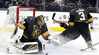 Fleury looking forward to first matchup against Penguins