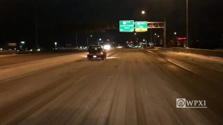 RAW VIDEO: Cranberry Township area road conditions