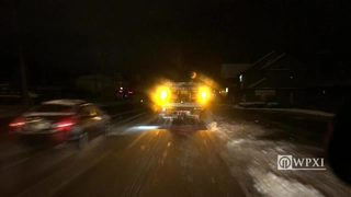 RAW VIDEO: Hampton Township area road conditions