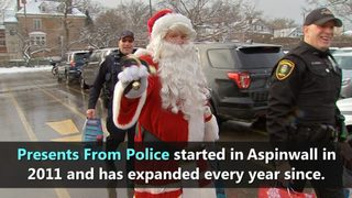 VIDEO: Presents From Police make gift deliveries