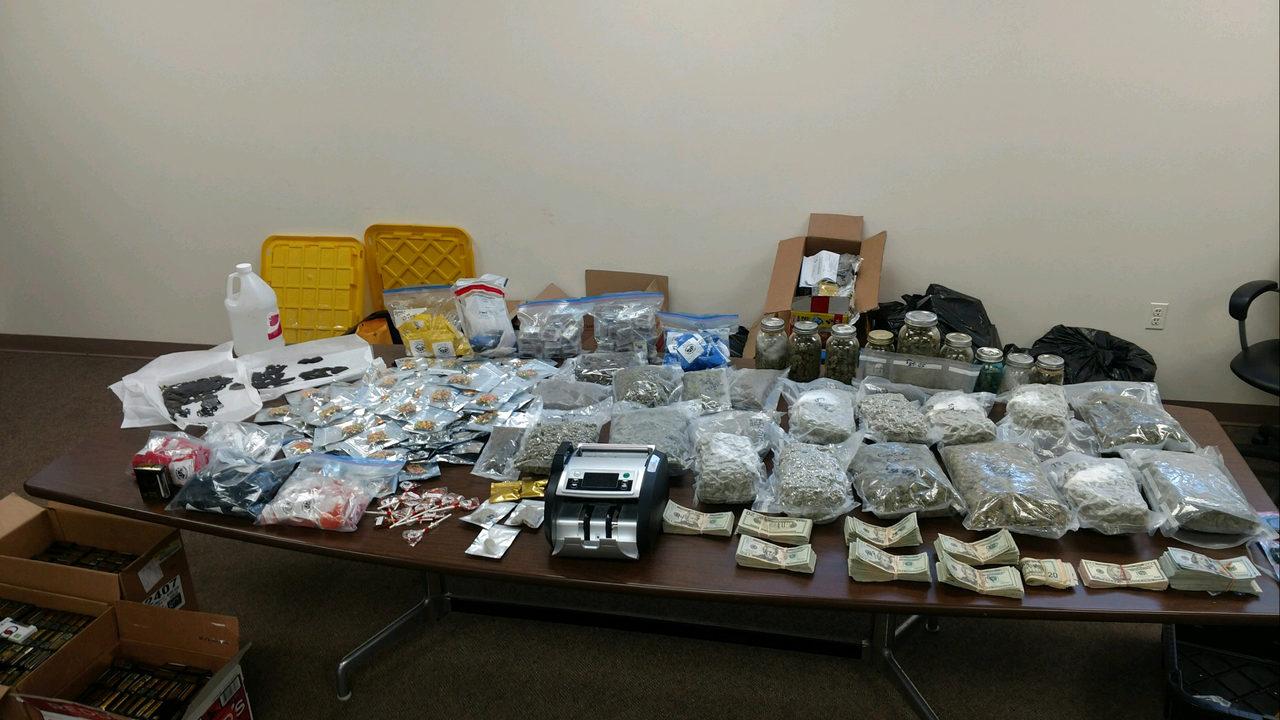 Police make huge drug bust, charge man who admits 'mess-up