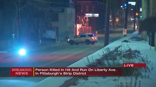 Pedestrian struck, killed in Strip District