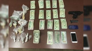 New Castle man arrested, charged with possession of narcotics