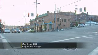 Teenager struck by vehicle in Squirrel Hill