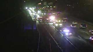 Lanes restricted following multi-vehicle crash on I-376