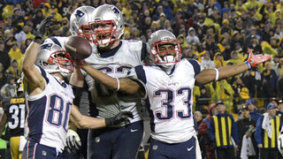 Patriots rally behind Gronkowski, edge Steelers 27-24