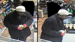 Man sought in Brentwood gas station robbery