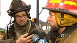 RAW VIDEO: Firefighters who rescued trapped people