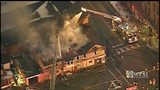 RAW VIDEO: Blairsville fire from Chopper 11
