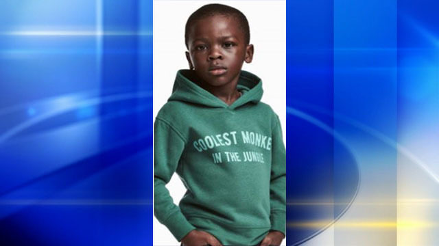 6b92c9709 H&M apologizes for image of black child in 'coolest monkey' hoodie ...