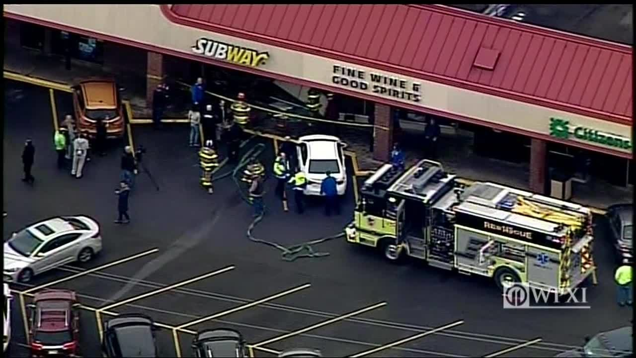 PHOTOS: Car crashes into Subway restaurant | WPXI