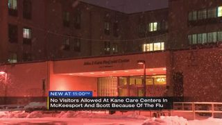 Kane Care Centers ban visitors over flu concerns