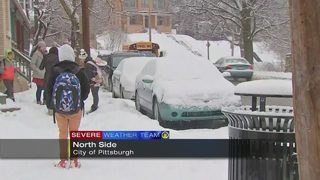 VIDEO: No delay; PPS students told to wait for buses to arrive