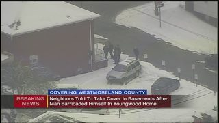 VIDEO: Residents urged to stay in basement during SWAT situation in Youngwood