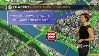 TRAFFIC: Downtown flooding (1/16/18)