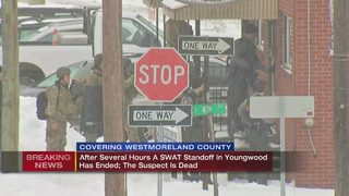Youngwood standoff ends after several hours with gunman dead