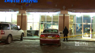 Car crashes into window of Pittsburgh dialysis center