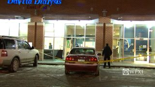 RAW VIDEO: Car crashes into dialysis center