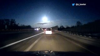 VIDEO: Meteor flashes across Michigan sky