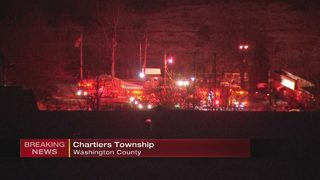 Crews battle chemical fire at Washington County titanium factory