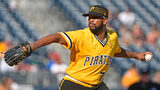 PITTSBURGH, PA - SEPTEMBER 24: Felipe Rivero #73 of the Pittsburgh Pirates delivers a pitch in the ninth inning during the game against the St. Louis Cardinals at PNC Park on September 24, 2017 in Pittsburgh, Pa. (Photo by Justin Berl/Getty Images)