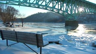 RAW VIDEO: River ice on the Allegheny