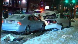 RAW VIDEO: Accident on Butler Street
