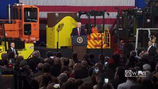 RAW: President Trump speaks in Pittsburgh (Part 2)