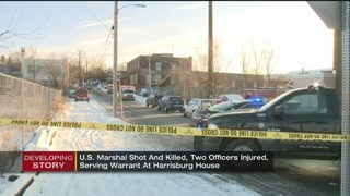 US marshal shot, killed while serving warrant