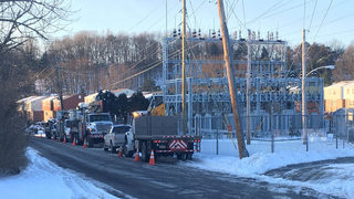 Power outage affecting thousands of customers
