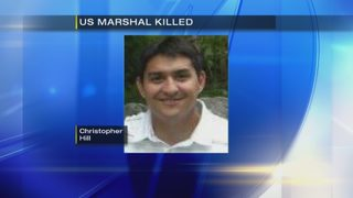 Flags lowered for US marshall killed in Harrisburg