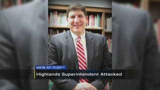 Superintendent in hospital after allegedly being attacked by student