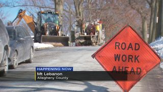 Water main break sends students home early