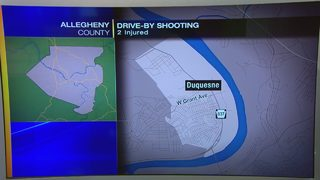 2 injured, taken to hospital following shooting in Duquesne