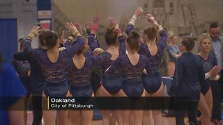 Pitt gymnastics team hosts autism awareness event