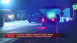 1 killed, 1 injured in head-on crash in Indiana Township
