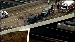 2 injured, 1 critically in head-on crash in Indiana Township