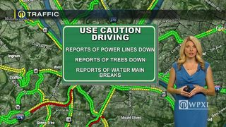 TRAFFIC: Downed trees, power lines (1/23/18)