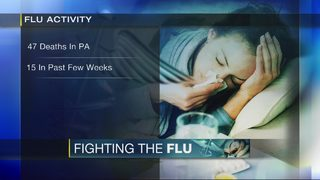 Fifth flu-related death reported in Allegheny County
