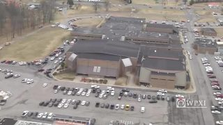 RAW VIDEO: Aerials of Kentucky school shooting scene