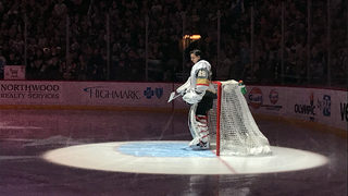 Former Pittsburgh Penguins goalie Marc Andre Fleury, wife welcome new baby