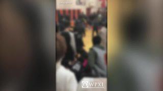 12 charged in high school basketball brawl